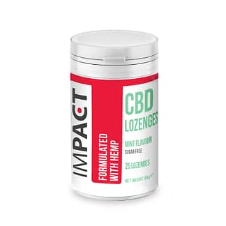 IMPACT CBD Lozenges - Mint