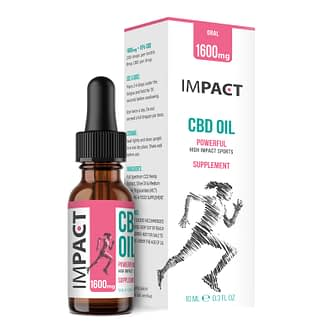 IMPACT Sports CBD Oil - 16% - Women