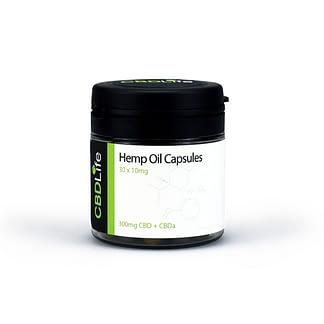 CBD Life Hemp Oil Capsules (30 X 25mg)