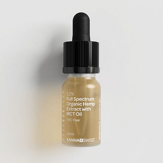 Full-Spectrum Organic Hemp Extract with MCT Oil 12%