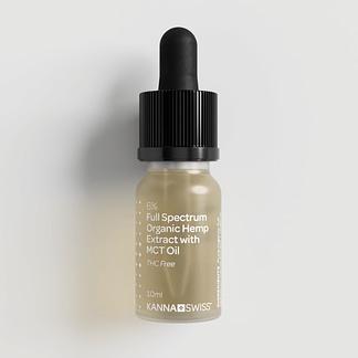 KannaSwiss Full-Spectrum Organic Hemp Extract with MCT Oil 6%