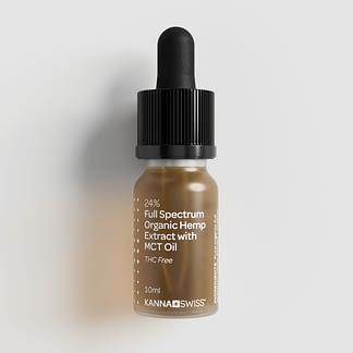 Full-Spectrum Organic Hemp Extract with MCT Oil 24%