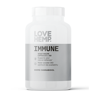 Love Hemp® Immune CBD Vegan Capsules (60 x 10mg)