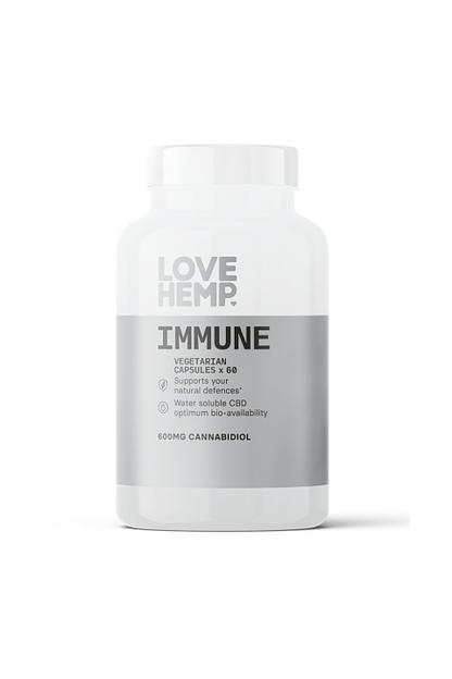 Love Hemp® Immune CBD Vegan Capsules (60 x 10mg)