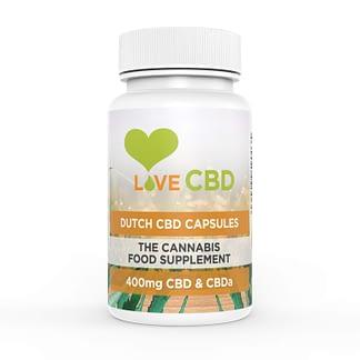 Love CBD Dutch CBD Capsules 400 mg (80 x 5 mg)