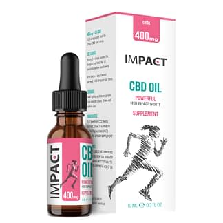 IMPACT Sports CBD Oil - 4% - Women