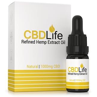 CBD Life Refined Broad Spectrum CBD Oil 10%