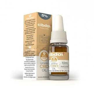 Cibdol CBD Hemp Seed Oil 5%