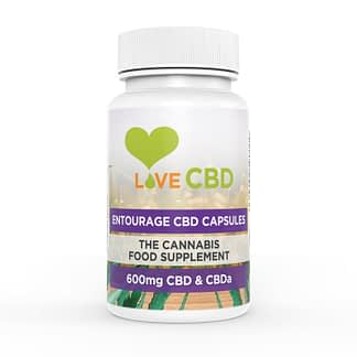 Love CBD Entourage CBD Capsules 600 mg (60 x 10 mg)