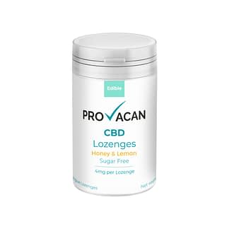 Provacan CBD Lozenges - HoneyLemon