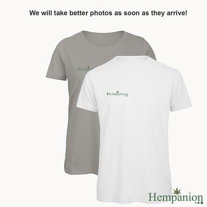 Woman's Organic Hempanion T-Shirt - White and Grey