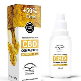 Dutch Passion CBD Compassion Oil 5%