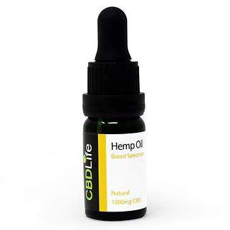 CBD Life 10% CBD Oil - Broard spectrum - THC Free