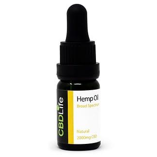 CBD Life 20% CBD Oil - Broard spectrum - THC Free
