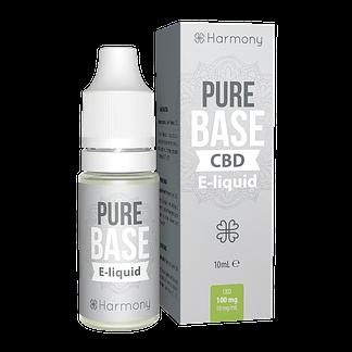 Harmony CBD Pure Base E-Liquid - 10 ml - 1000 mg CBD