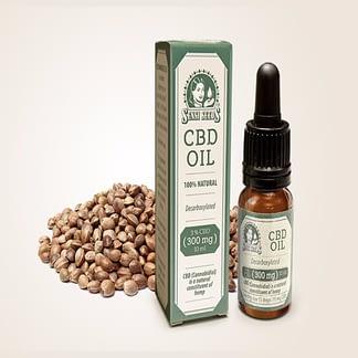 Sensi Seeds Hemp CBD Oil 3% CBD (300mg/10 ml)