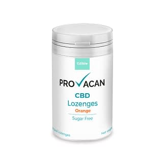 Provacan CBD Lozenges - Orange