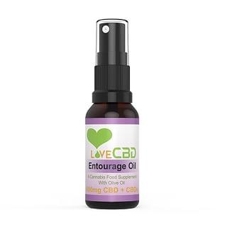 Entourage CBD Oil 800 mg. - Love CBD